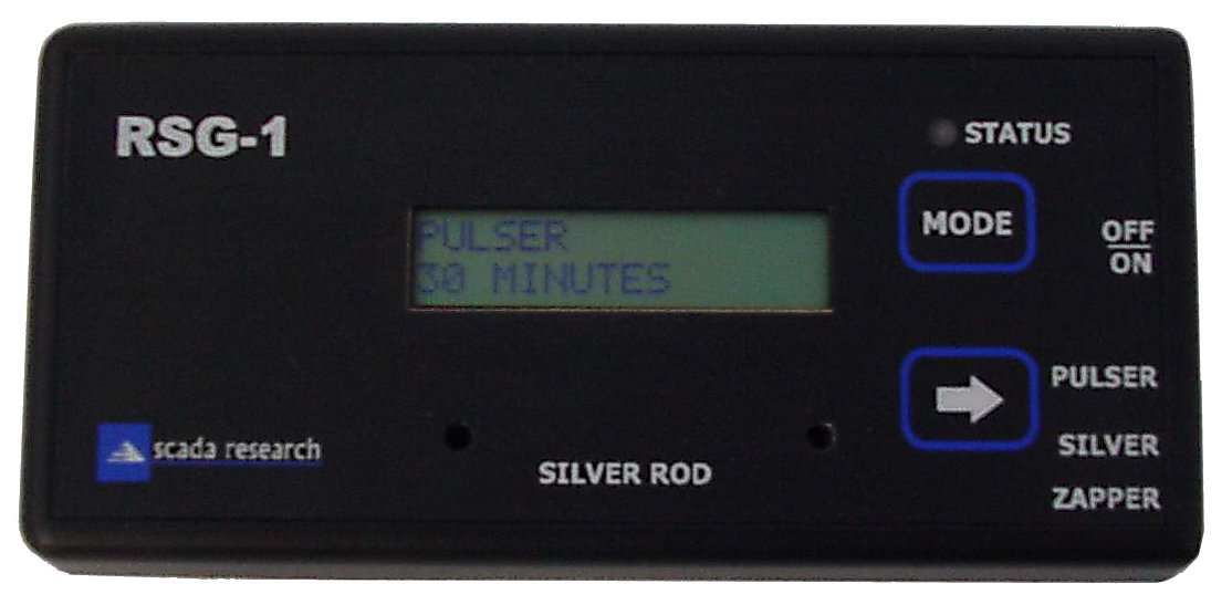 Scada Research RSG-1 Zapper Pulser Colloidal Silver Maker